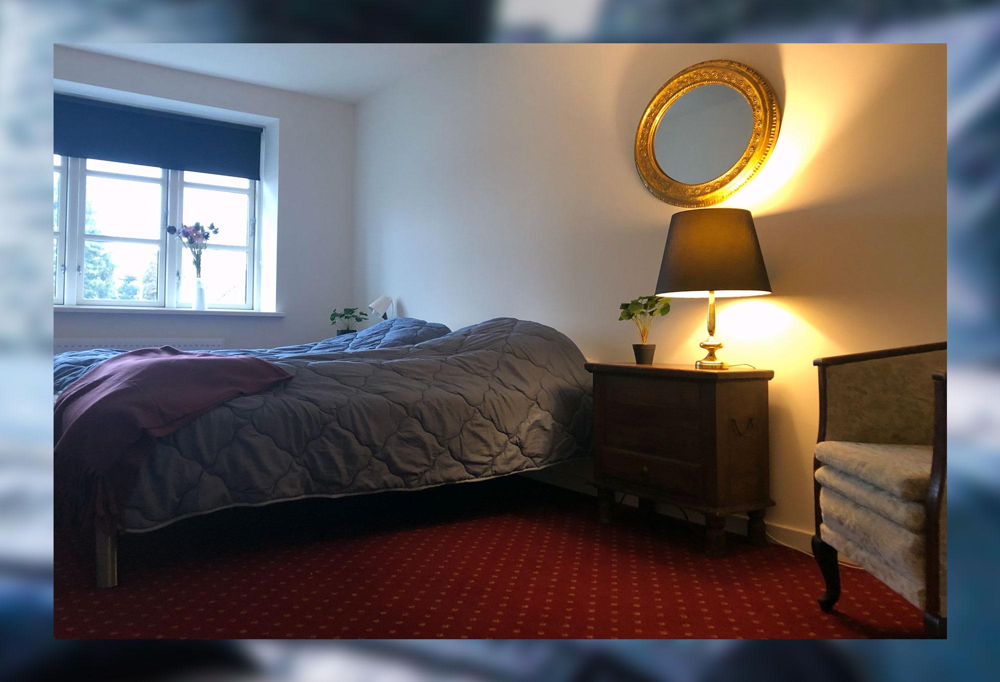 Lyst og lækkert dobbeltværelse